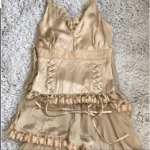 Double D Ranch Gold Outfit